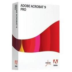 ADOBE SYSTEMS Adobe Acrobat v.9.0 Professional - Version Upgrade Package - Standard - 1 User - PC