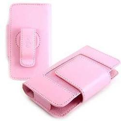 Wireless Emporium, Inc. Blackberry 8800/8820/8830 Soho Kroo Leather Pouch (Pink)