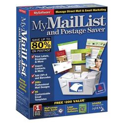 Avanquest My Mail List and Postage Saver - Windows