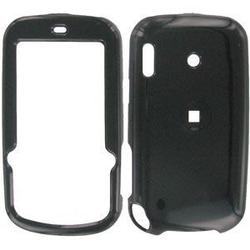 Wireless Emporium, Inc. Black Snap-On Protector Case Faceplate for Palm Treo Pro