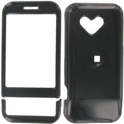 Wireless Emporium, Inc. Black Snap-On Protector Case Faceplate for T-Mobile G1/Google Phone