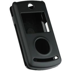 Wireless Emporium, Inc. Black Snap-On Rubberized Protector Case for LG Chocolate 3 VX8560