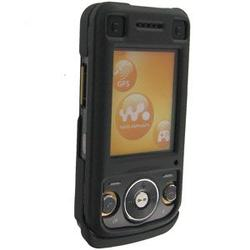 Wireless Emporium, Inc. Black Snap-On Rubberized Protector Case for Sony Ericsson W760
