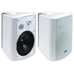 TIC ASP120-W Indoor/Outdoor Speakers - White, Aluminum