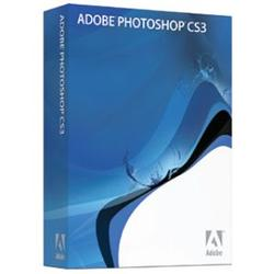 ADOBE SYSTEMS Adobe Photoshop CS3 - Complete Product - Standard - 1 User - Mac, Intel-based Mac