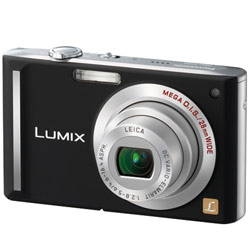Panasonic Black 8.1MP Digital Camera