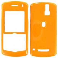 Wireless Emporium, Inc. Blackberry 8100 Pearl Orange Snap-On Protector Case Faceplate