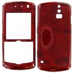 Wireless Emporium, Inc. Blackberry 8100 Pearl Rosewood Snap-On Protector Case Faceplate