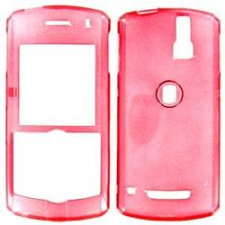 Wireless Emporium, Inc. Blackberry 8100 Pearl Trans. Red Snap-On Protector Case Faceplate
