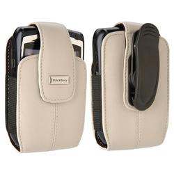 Blackberry 82112RIM Leather Vertical Pouch with Belt Clip for 8700, 8800 Series