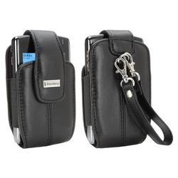 Blackberry 82250RIM Leather Vertical Tote with Wrist Strap for 8700, 8800 Series
