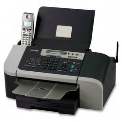 BROTHER INT L (PRINTERS) Brother IntelliFAX-1960C Color Inkjet Fax with Cordless Handset