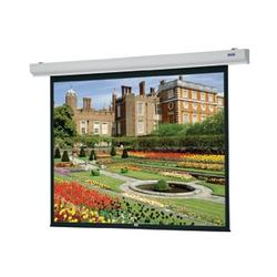 Da-Lite Designer Contour Electrol with Integrated Infrared Remote Projection Screen - 84 x 84 - Matte White - 119 Diagonal