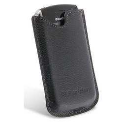 Eforcity Blackberry 8100 Genuine Matte Leather Pouch Case [OEM] HDW12725004