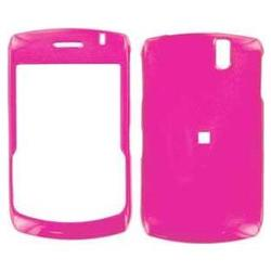 Wireless Emporium, Inc. Blackberry 8300 Curve Hot Pink Snap-On Protector Case w/ clip
