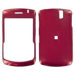 Wireless Emporium, Inc. Blackberry 8300 Curve Red Snap-On Protector Case w/ clip