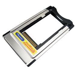 CABLES UNLIMITED Cables Unlimited ExpressCard 34mm to PCMCIA/CardBus Adapter - 1 x ExpressCard/34