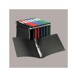 Avery-Dennison Hanging File Poly Ring Binder, 1 Capacity, Black (AVE14801)