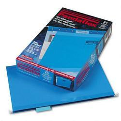Esselte Pendaflex Corp. Hanging Folder, Reinforced with InfoPocket®, Blue, 1/5 Tab, Legal, 25/Box (ESS415315BLU)