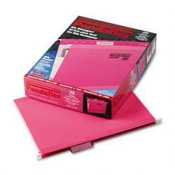 Esselte Pendaflex Corp. Hanging Folder, Reinforced with InfoPocket®, Pink, 1/5 Tab, Letter, 25/Box (ESS415215PIN)