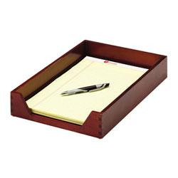 RubberMaid Harmony™ Wood Legal Letter Tray, Mahogany Finish (ROL73521)