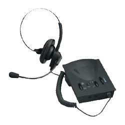 Compucessory Headset,/Amplifier,Kit,Adjust. Volume,3.5mm,10'Cord,Black (CCS55253)