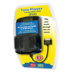 Accessory Power Black iPod FM Transmitter, Car Charger and Cradle For Apple iPod/Touch (Package Includes USB cable )