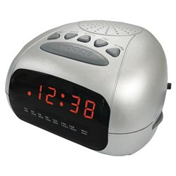 Slick Cr 210 Am/fm Alarm Clock