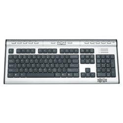 Tripp Lite IN3007KB Premier Office Keyboard - USB - Silver