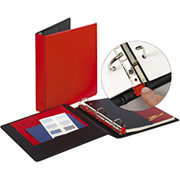 "1 1/2"" EasyOpen D-Ring Binder, Red"