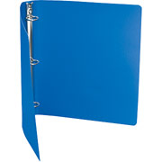 "1"" Accohide Round-Ring Poly Binder, Blue"