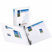 "1"" Durable D-Ring View Binder, White"
