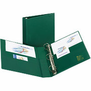 "1"" Heavy-Duty EZD Binder, Green"