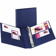 "2"" Durable D-Ring Binder, Blue"