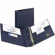 "2"" Heavy-Duty EZD Binder, Navy Blue"