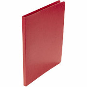 Acco Presstex Grip Punchless Binders, Executive Red