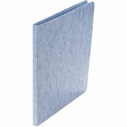 Acco Presstex Grip Punchless Binders, Light Blue
