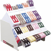 Ames Color-File Numeric Label Dispenser and Organizer