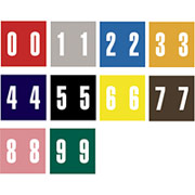 Ames Color-File Numeric Labels, Number 3