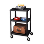 Apollo Adjustable-Height Metal Projector Cart
