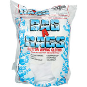 Bag-A-Rags Reusable Cotton Wiping Cloths