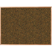 Balt 3x4 Blue Splash Cork Board with Oak Trim