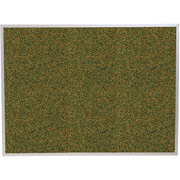Balt 4'x6' Green Splash Cork Board with Aluminum Trim