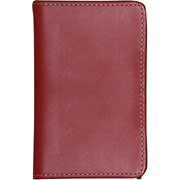 Buxton Madison Double Jotter w/ Pen, Red