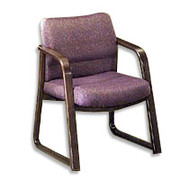 HON 2900 Series Guest Arm Chair, Olefin Dark Gray