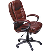 chairs lane cognac leather executive chair lane 4186