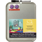 "Magnetic Stainless Steel Dry-Erase Board, 14""H x 11""W"