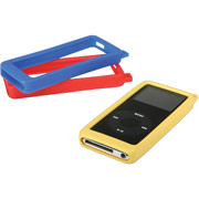 Monster iBumper for iPod Nano, 3/Pack (Red, Blue & Yellow)