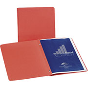 Oxford Portfolios with Fasteners, Red