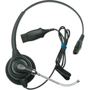 Plantronics H251 Supra Plus Monaural Headset with Voice-Tube Mic